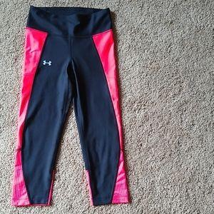 Under armour compression Capri leggings